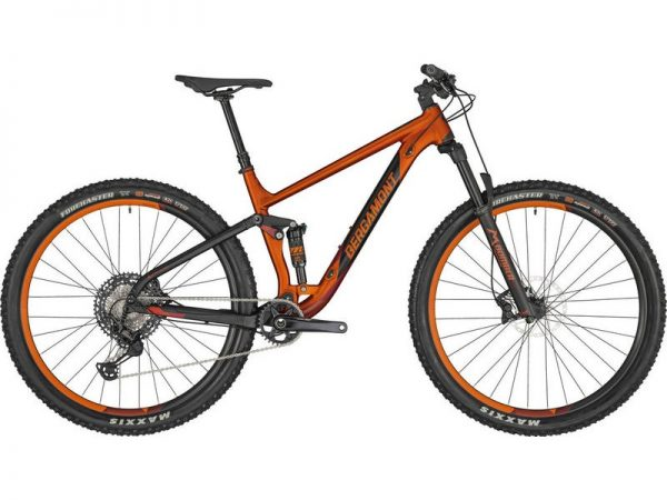 Bergamont Contrail 8 2020 Full Suspension Mountain Bike Orange