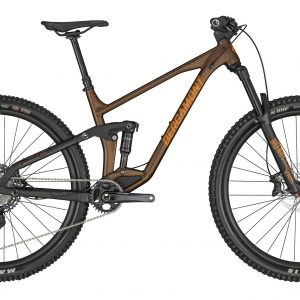 Bergamont Trailster 8 2020 Full Suspension Mountain Bike Brown